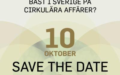 Bäst i Sverige på cirkulära affärer?