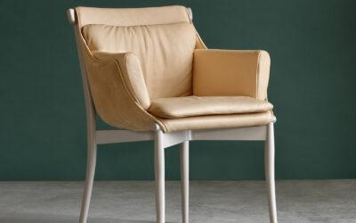 Gärsnäs visar smart stol i Milano