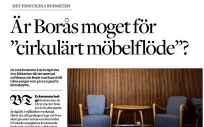 """Är Borås moget för """"cirkulära möbelflöden""""?"""